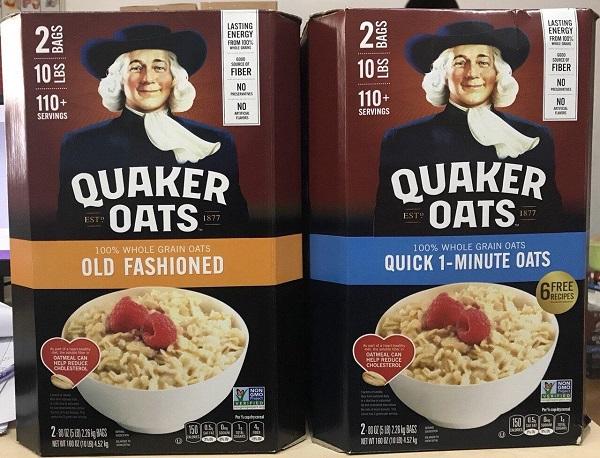 Yến mạch Quaker Oats có tốt không? Review người dùng chi tiết