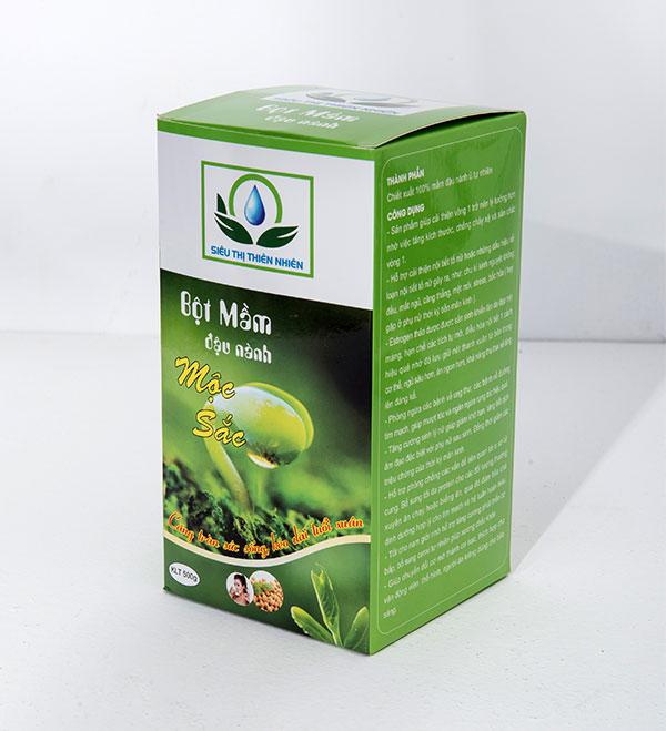 Bột mầm đậu nành Mộc Sắc có tốt không? Review bột mầm đậu nành nguyên xơ Mộc Sắc từ người dùng