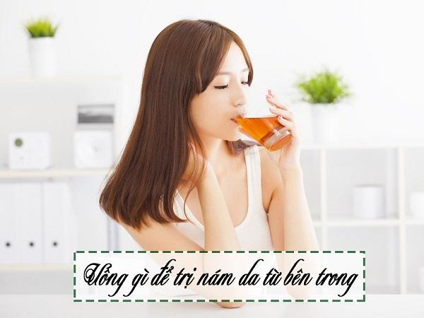 Uống gì để trị nám từ bên trong giúp da căng mướt, mịn màng?
